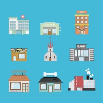 Collection de bâtiments