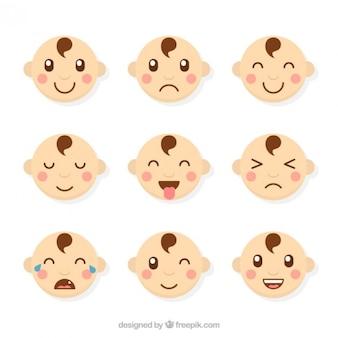 Collection de bébé avatar