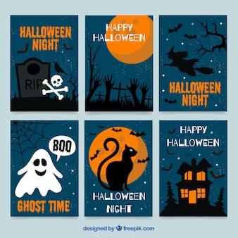 Collection de cartes Halloween