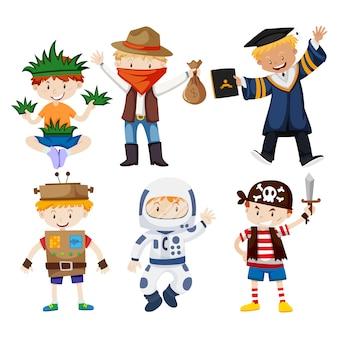 Collection de costumes pour enfants