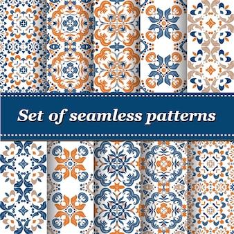 Collection de motifs abstraits
