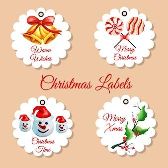 Collection de Noël Tags
