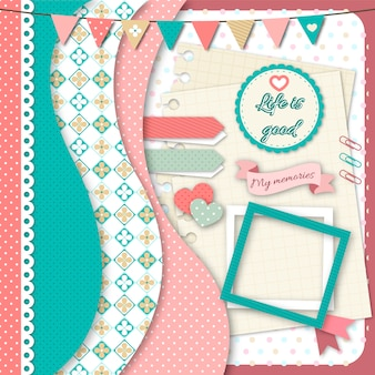 Collection de scrapbook offre