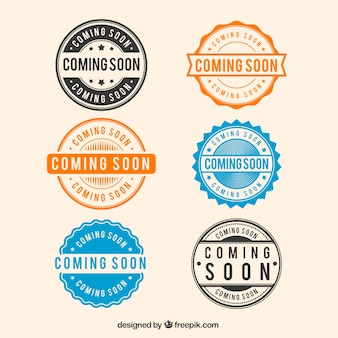Collection de timbres Six Round à venir prochainement