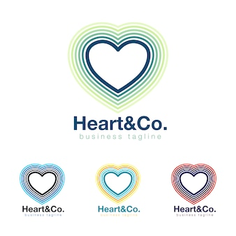 Collection logo du coeur