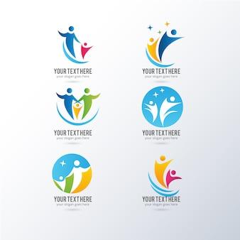 Collection logos Résumé