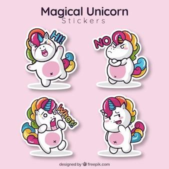 Collection Loving Unicorn Sticker