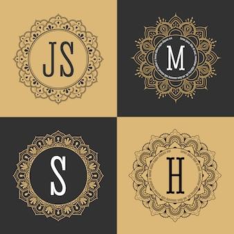 Collection mandalas décoratifs