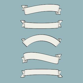 Collection simple de rubans