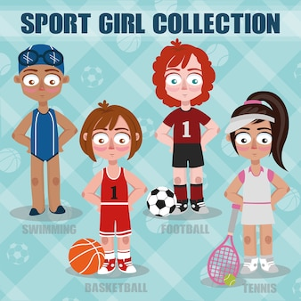 Collection Sport Girl
