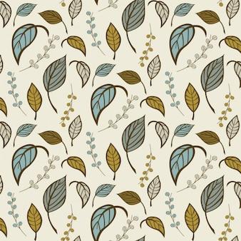 Coloré leafs design pattern