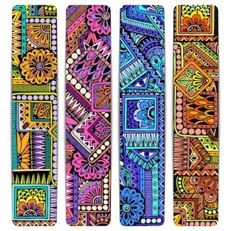 Coloré bannières collection