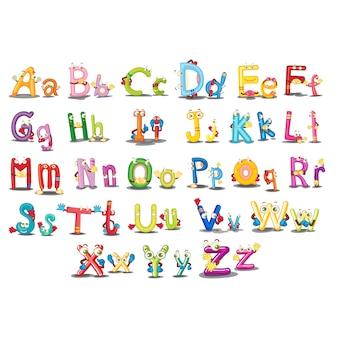 Coloré design alphabet