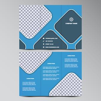 Coloré design trifold