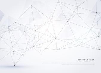 Conception abstraite d'arrière-plan en maille polychrome numérique