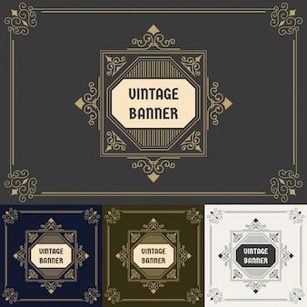 Conception d'étiquette vintage