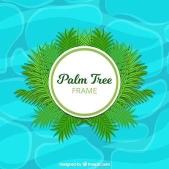 Conception de cadre de palmier