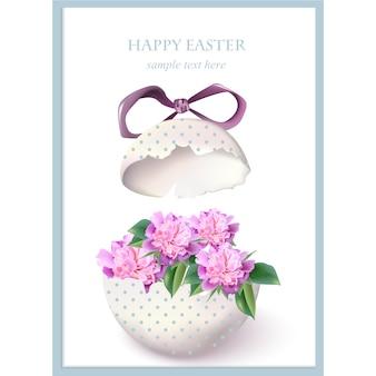 Conception de cartes de Pâques