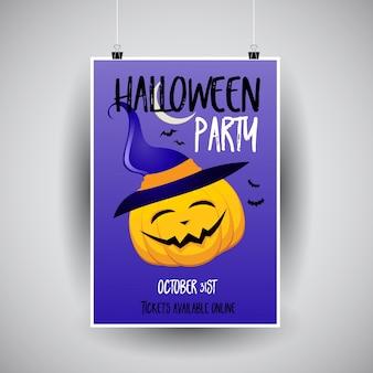 Conception de flier d'Halloween