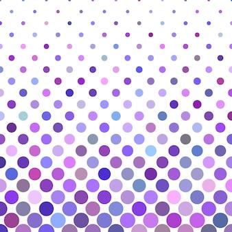Conception de fond de cercles multicolores