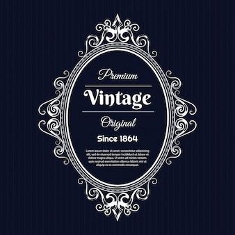 Conception de fond vintage