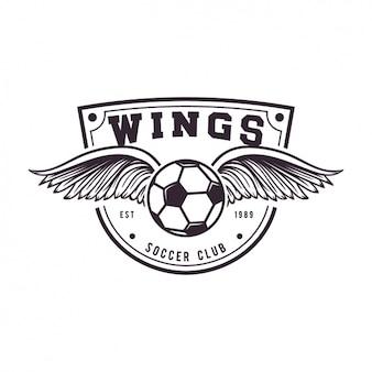 Conception de football logo de modèle