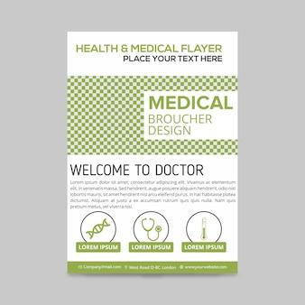 Conception de la brochure médicale des soins de santé