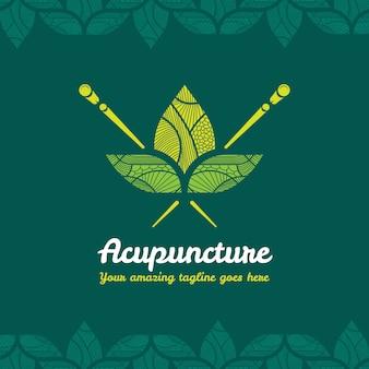 Conception de logo d'acupuncture