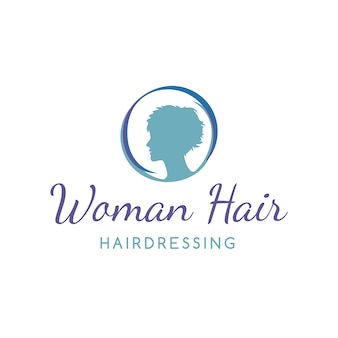 Conception de logo de coiffure