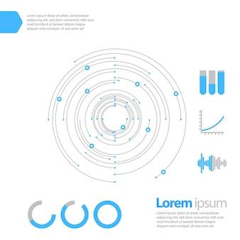 Conception de modèle Infographic