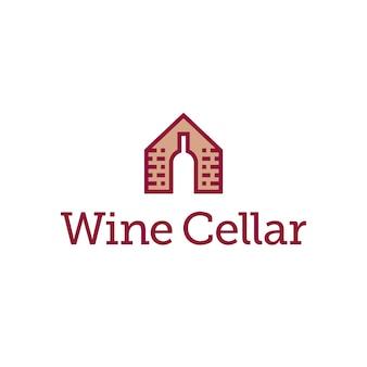 Conception du logo cave à vin