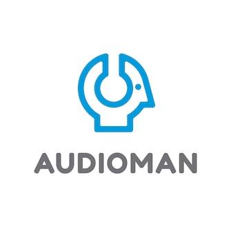Conception du logo des écouteurs