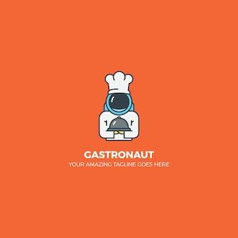 Conception du logo gastronomique
