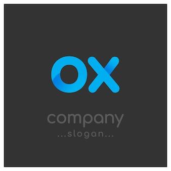Conception du logo Ox