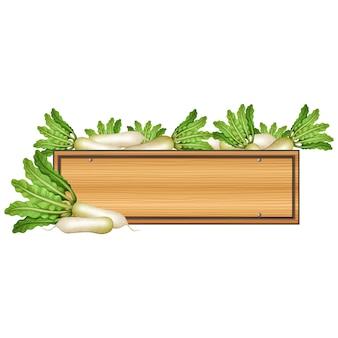 Conception légumes boîte