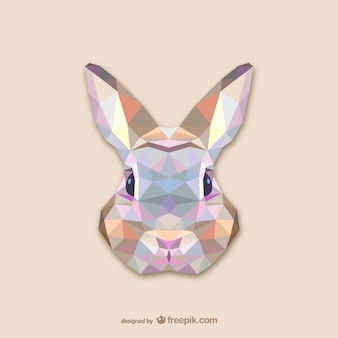 Conception triangle de lapin