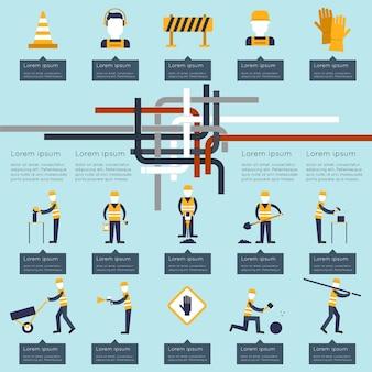 Construction conception infographique