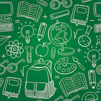Contexte de l'arrière-plan de l'élément scolaire
