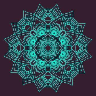 Contexte de mandala décoratif