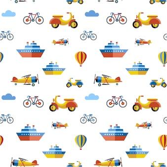 Contexte de motif de transport