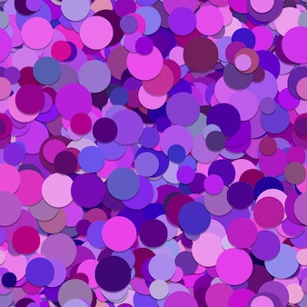 Contexte des cercles violets