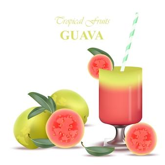 Contexte des fruits tropicaux