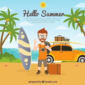 Contexte des vacances d'été
