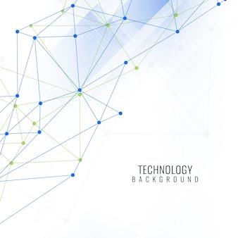 Contexte technologique futuriste abstrait