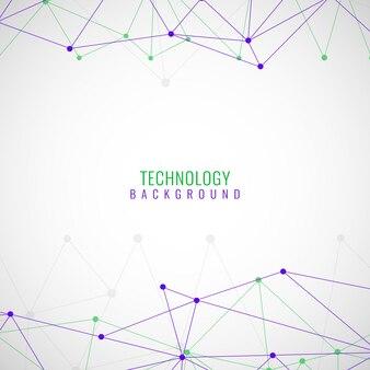 Contexte technologique moderne et coloré