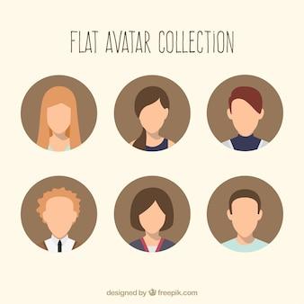 Cool ensemble d'avatars