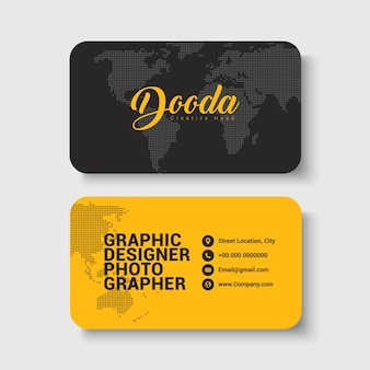 Corporate & Personal Business Card