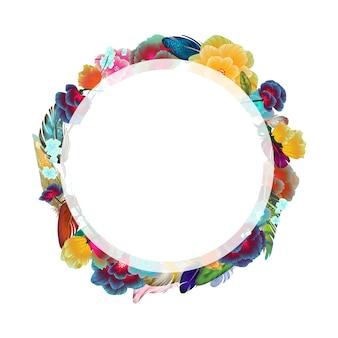 Couronne florale minimaliste