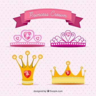 Couronnes de princesse