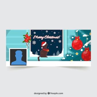 Couverture de Noël Facebook